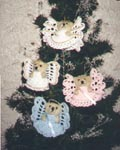 Angel Bear Ornaments